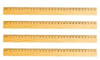 Righelli in legno da 30 cm