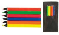 Set di 6 matite colorate fluo