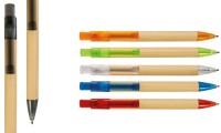Penna a scatto in carta riciclata