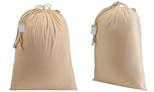 Sacchetto in cotone organico 40 x 50 cm personalizzate