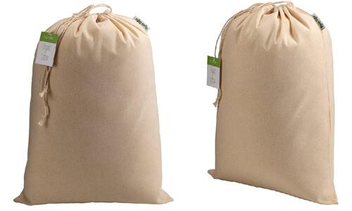 Sacchetto in cotone organico 30 x 45 cm personalizzate