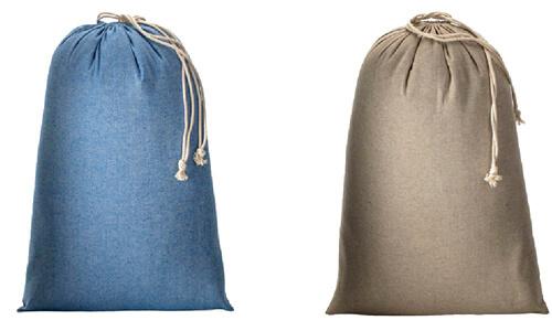 Sacchetto cotone riciclato 50 x 70 cm Stampa il tuo logo aziendale