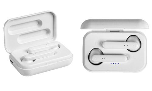 Auricolari bluetooth con scatola di ricarica personalizzate