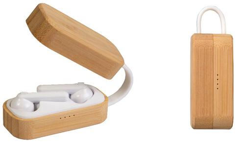 Auricolari bluetooth con scatola personalizzate