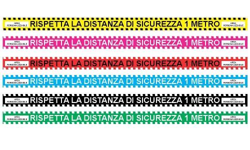 Metro adesivo Segna distanza personalizzato