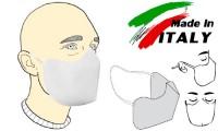 Mascherina filtrante monouso Basic con elastici