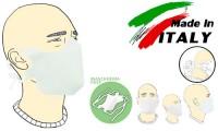 Mascherina filtrante monouso Basic con lacci