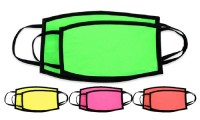 Mascherine colori Fluo
