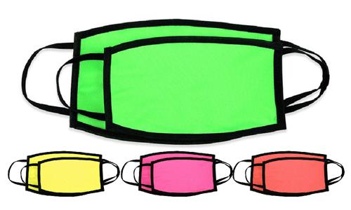 Mascherine colori Fluo Stampa la tua Pubblicità