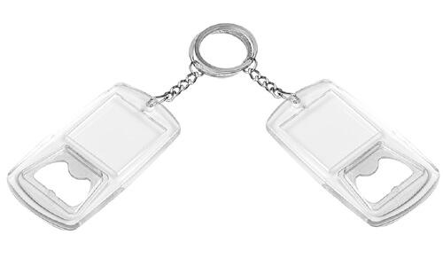 Portachiavi apribottiglie LABEL OPENER personalizzabili