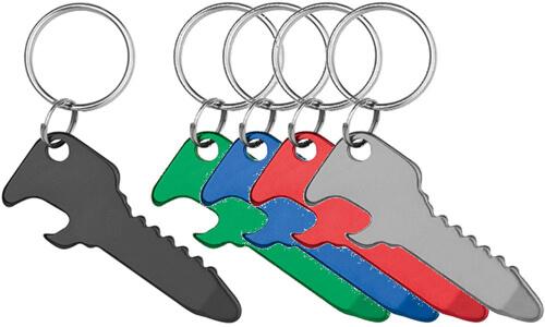 Portachiavi apribottiglie KEY OPENER Personalizzali con il tuo logo