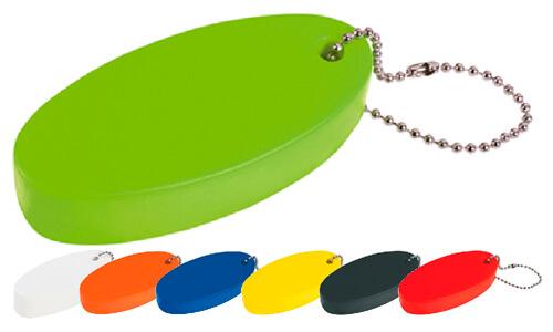 Portachiavi galleggiante antistress personalizzabili