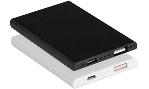 Power Bank 2000 SPIDER SLIM Stampa il tuo logo