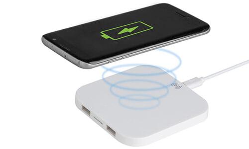 Caricatore Wireless RECHARGE Stampa la tua Pubblicità