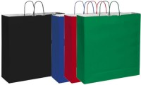 Shopper in carta kraft bianca 54x50x14