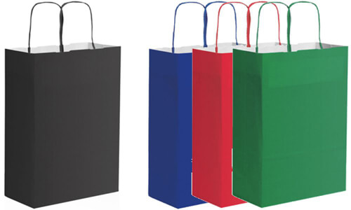 Shopper carta kraft Personalizzali con il tuo logo