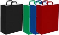 Shopper 45x48x15 carta kraft bianca