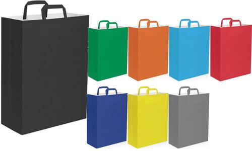 Shopper in carta kraft 32x43x17 Promozionali