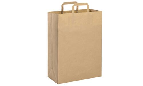 Shopper carta riciclata avana personalizzate
