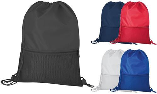 Sacca zaino con tasca personalizzate