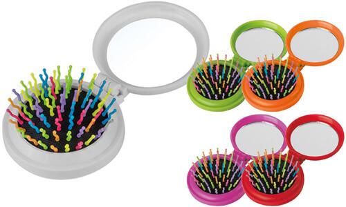 Specchietto spazzola AMELIE Personalizzali con il tuo logo