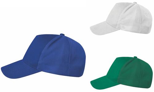 Cappellini Poliestere extra traspirante personalizzabili