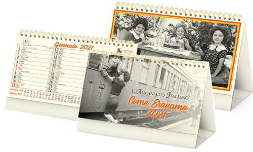Calendario Come eravamo personalizzate