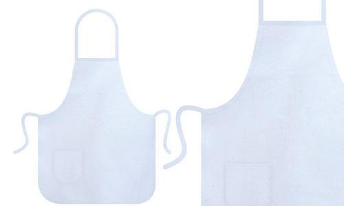 Grembiule bianco - cotone