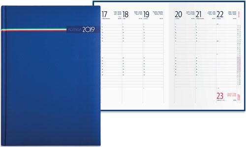 Agende settimanale Tricolore 17x24 cm