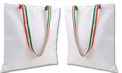 Shopper subli bag in Poliestere tricolore