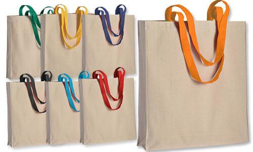 Shopper con soffietto cotone 220gr  serie Top