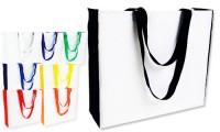 Borse poliestere subli bag manici soffietto colorati