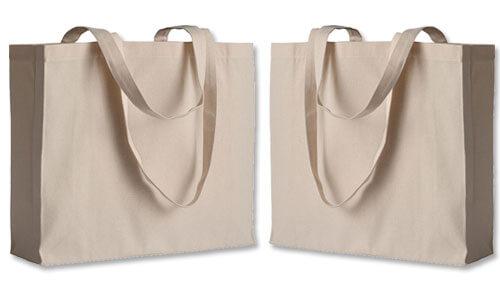 Shopper con soffietto - Orizzontale serie Top