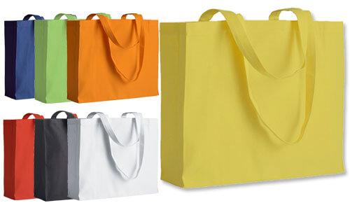 Shopper con soffietto - Orizzontale - serie Top