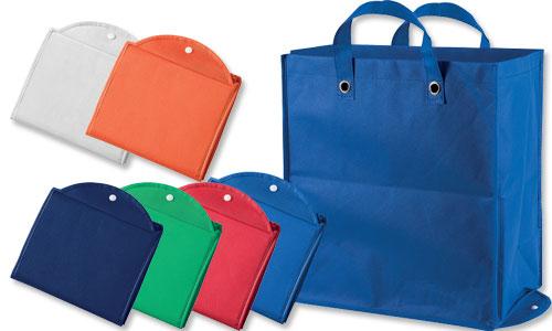 Shopper richiudibile ampio soffietto