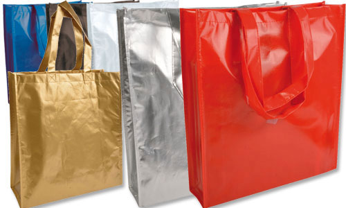 Shopper in TNT laminato 38x42x15 cm