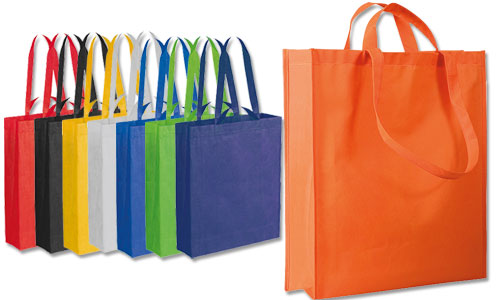 Shopping bag in TNT con Doppi Manici