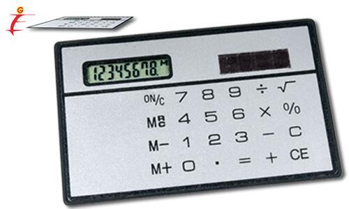 Calcolatrice da taschino.
