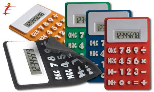 Calcolatrici flessibili
