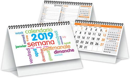 Calendari da tavolo Day By Day