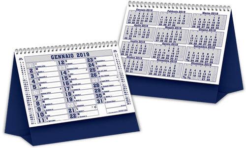 Calendari da Tavolo Silver