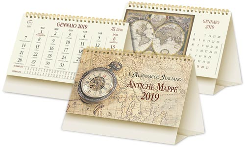 Calendario modello Mappe