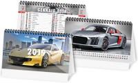 Calendario da banco Illustrato Auto