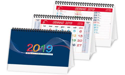 Calendario da tavolo olandese calendario trimestrale spiralato - Calendari da tavolo 2018 ...