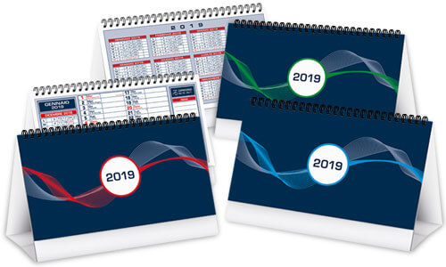 Calendari da tavolo Bicolor