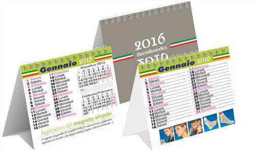 Calendari da tavolo Mini Quadro trimensile
