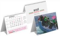Calendari da tavolo foglio a foglio trimensile