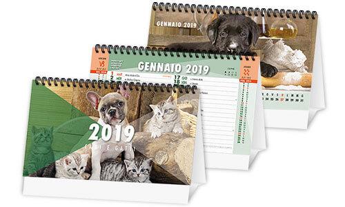 Calendari da tavolo con foto di animali - Calendari da tavolo con foto ...