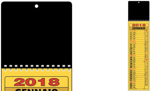Calendario Cinesino Testata black