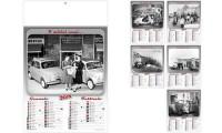 Calendari illustrati Auto Mitiche